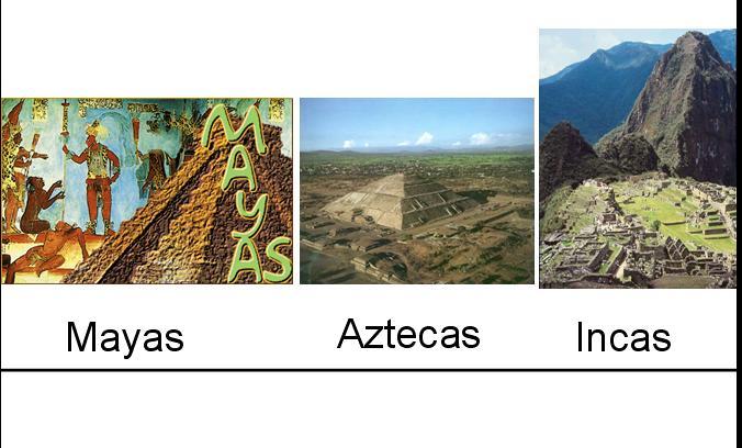 mayasaztecasincas